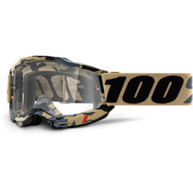 100% Accuri Anti-Fog Goggles Gen2, tarmac/clear